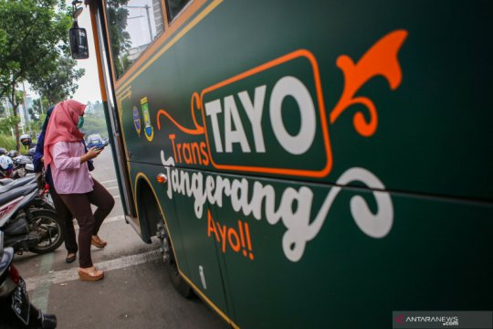 Jam operasional transportasi umum di Tangerang diperpanjang