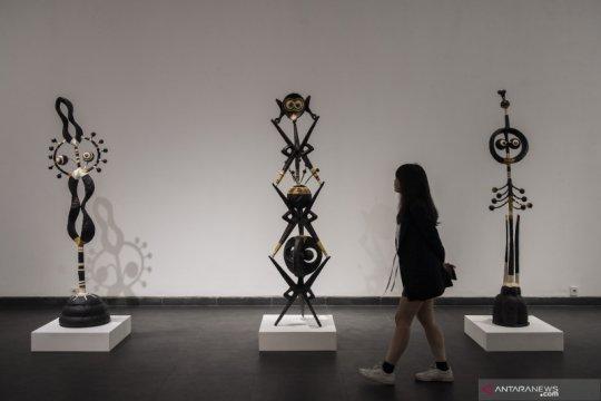 Pameran seni rupa modern Poetival Vector