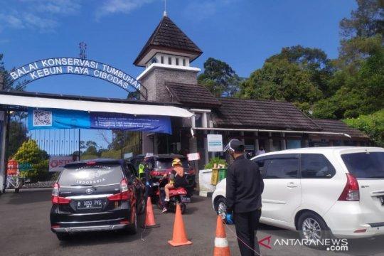 Sosialisasi penerapan protokol kesehatan ketat di obyek wisata Cianjur