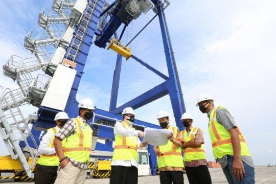 Pelindo 1: Arus barang di Pelabuhan Kuala Tanjung naik dua kali lipat