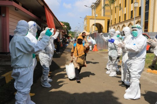 3.219 pasien COVID-19 di Surabaya sembuh