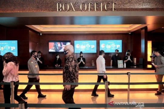 Menparekraf pastikan bioskop terapkan protokol kesehatan