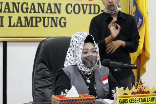 Dinkes: Kasus positif COVID-19 Lampung nihil, kasus PDP bertambah dua