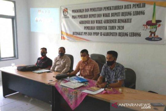 KPU Rejang Lebong coklit 211.142 data pemilih Pilkada 2020