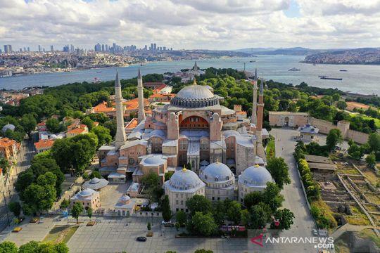 Hari-hari terakhir museum Hagia Sophia sebelum alih fungsi menjadi masjid