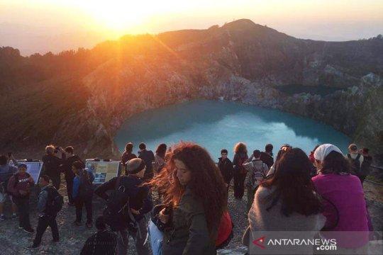 Kawasan wisata Kelimutu NTT kembali dibuka