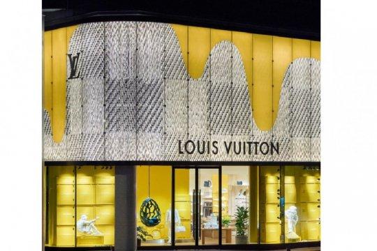 Louis Vuitton pilih jalanan Shanghai untuk luncurkan koleksi terbaru