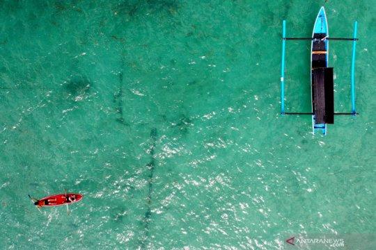 Kawasan pariwisata Pantai Pandawa kembali dibuka