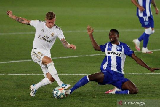 Real Madrid kehilangan Toni Kroos dua pekan