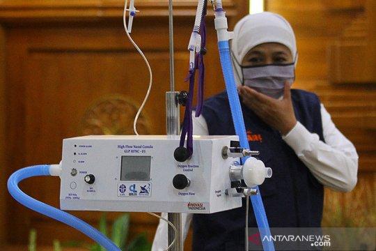 Gubernur Jatim: Kesembuhan pasien COVID-19 meningkat