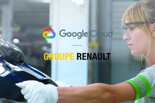 Renault - Google Cloud bermitra optimalkan manajemen data otomotif