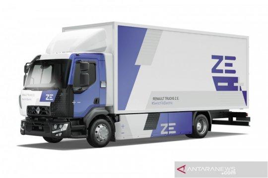 Truk listrik Renault Wide ZE jadi armada pengangkut sampah