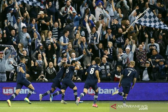 Pemain Sporting Kansas City positif COVID-19