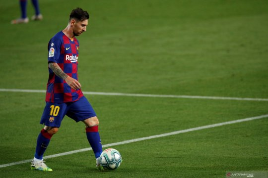 Lionel Messi, si mesin assist Barcelona