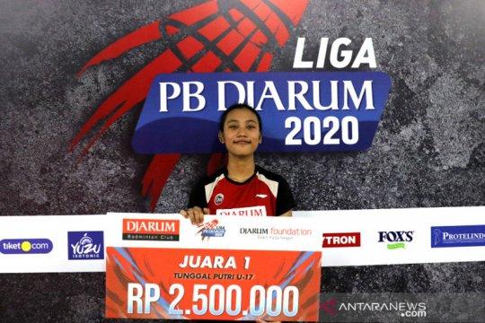 Mutiara Ayu atlet terbaik Liga PB Djarum 2020 setelah bikin kejutan