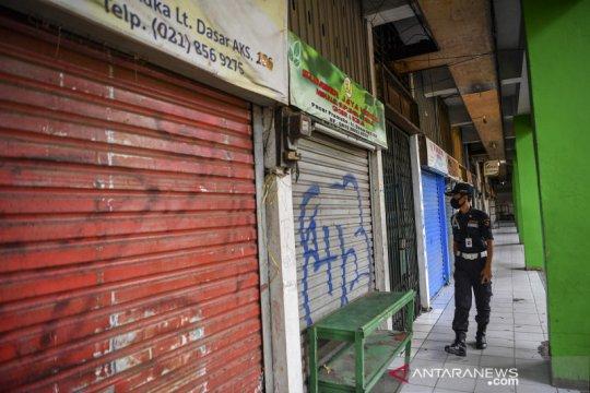Pasar Pramuka dibuka kembali setelah ditutup akibat COVID-19