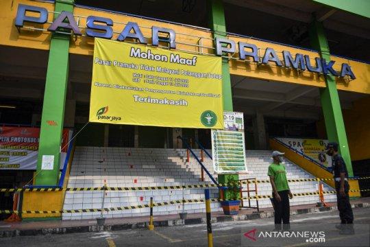 Seorang pedagang dinyatakan positif COVID-19, pasar Pramuka ditutup sementara