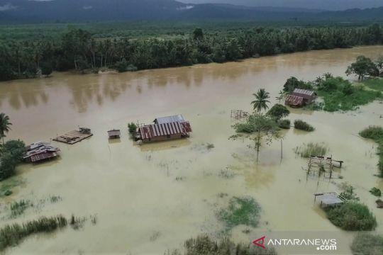 Banjir merendam tujuh kecamatan di Konawe Utara
