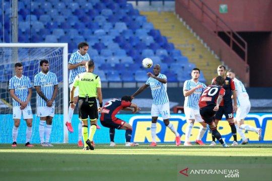 Genoa kembali keluar dari zona merah setelah tundukkan SPAL 2-0