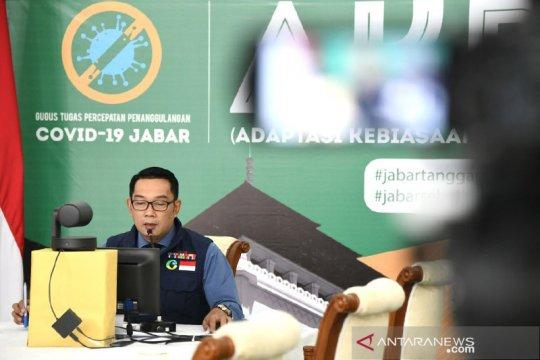 Warga tak pakai masker kena denda hingga Rp150 ribu di Jawa Barat