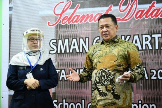 Isi MPLS, Ketua MPR ajak siswa aktif berorganisasi