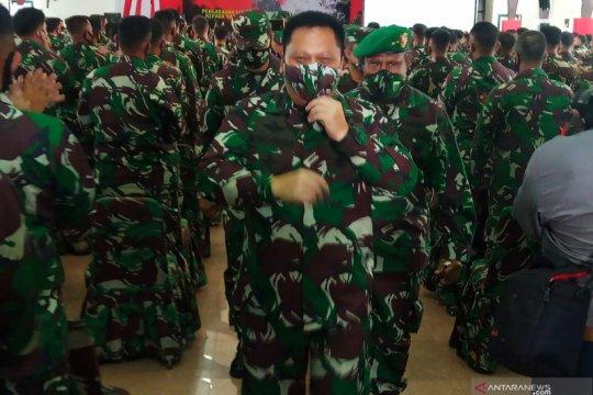 Ratusan prajurit TNI AD dikirim lagi ke Papua Barat