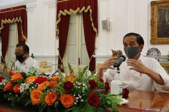 Jokowi siapkan sanksi bagi pelanggar protokol kesehatan