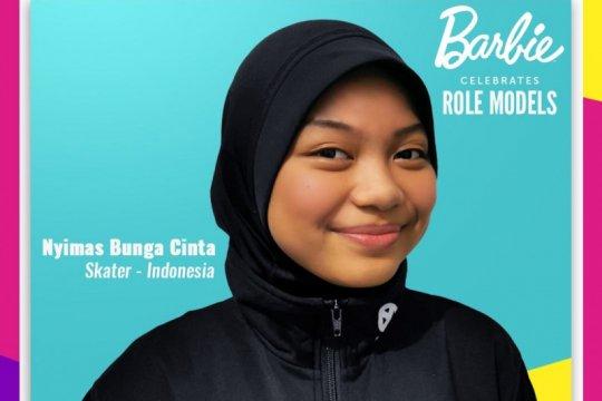 Barbie beri penghargaan untuk atlet muda Nyimas Bunga Cinta