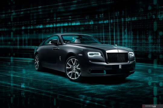 Rolls-Royce Wraith Kryptos, mobil misterius berisi data tersembunyi