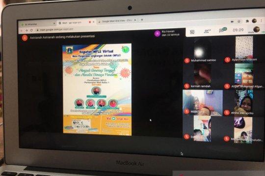 SDN Rawa Badak Selatan 01 laksanakan MPLS secara daring