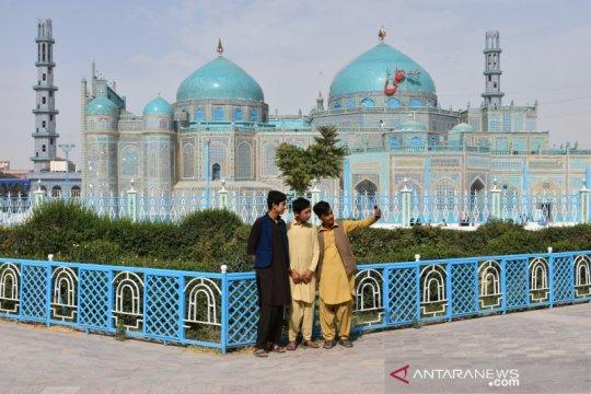 Masjid Biru di Afghanistan dibuka kembali