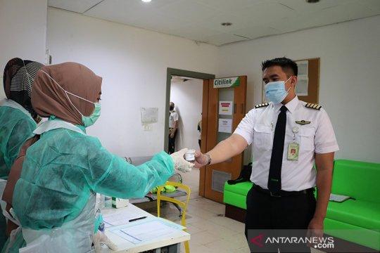 Citilink gandeng BNN gelar tes urin untuk karyawan