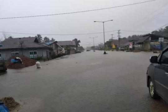 Sebanyak 1.286 KK terdampak banjir Konawe Utara