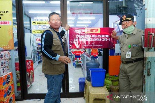 Banyuwangi tutup toko dan warung kuliner langgar protokol kesehatan