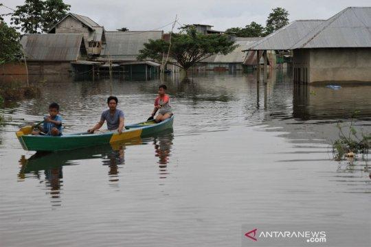 Ratusan rumah terendam banjir di Konawe