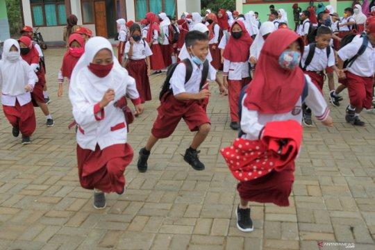 Anak-anak sampaikan aspirasi pada Hari Anak Nasional