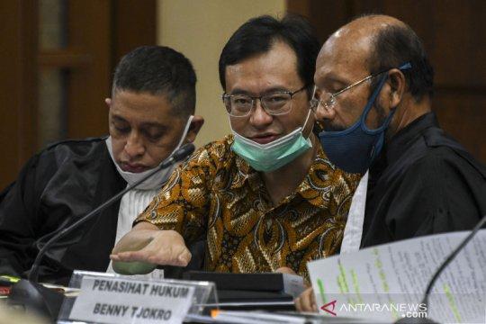 Sidang lanjutan kasus korupsi Jiwasraya