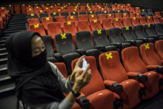 Kapasitas auditorium bioskop CGV bertambah jadi 50 persen