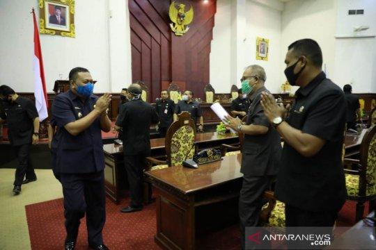 Empat fraksi di DPRD Gianyar Bali sampaikan pandangan umum