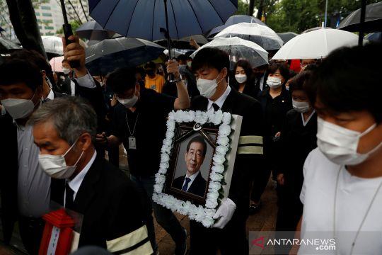 Pemakaman Wali Kota Seoul yang ditemukan meninggal dunia