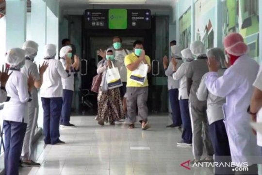 Gugus Tugas Jatim: Angka kesembuhan tertinggi lima hari berturut-turut