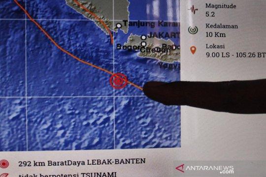 BPBD Lebak : Gempa magnitudo 5,1 tak timbulkan kerusakan infrastuktur