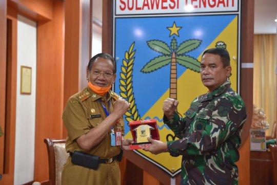 Pangdam XIII/Merdeka apresiasi upaya Gubernur Sulteng atasi COVID-19