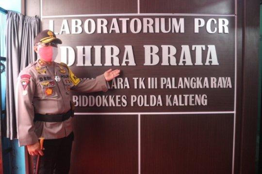 Tangani Corona, Polda Kalteng dirikan Lab PCR di RS Bhayangkara