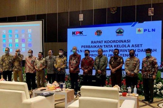 KPK minta pemda di Jateng koordinasi dengan BPN-PLN terkait aset