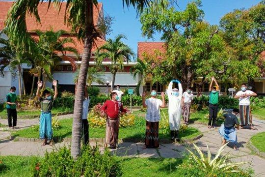 Lima santri Gontor kembali dikirim ke RS Lapangan Surabaya