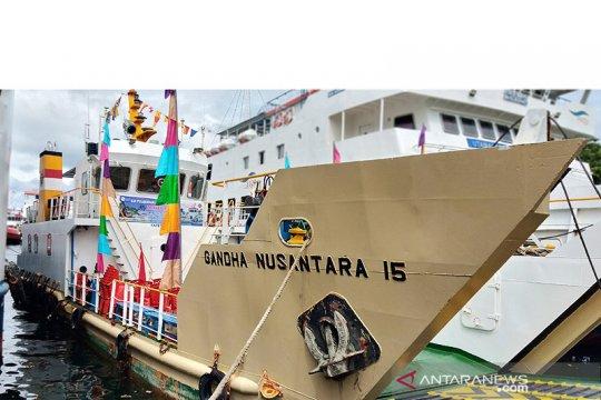 Kapal bantuan Kemenhub untuk Sorong Papua resmi beroperasi