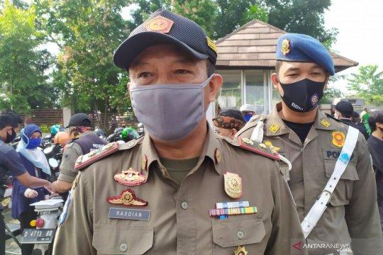 Satpol PP Kota Bandung tunggu regulasi denda warga tak pakai masker
