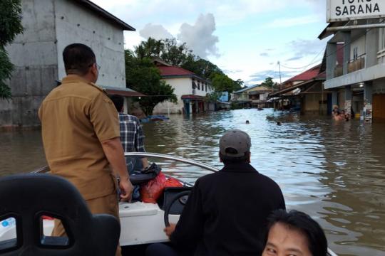 61 rumah warga Kayan Hulu hanyut saat banjir