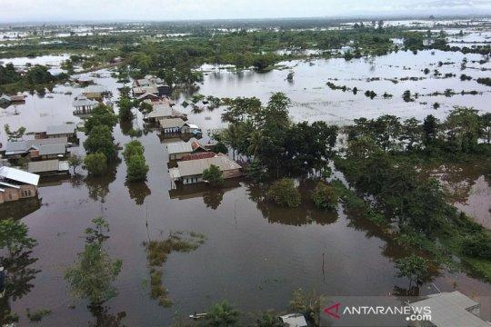 11 kecamatan di kabupaten Konawe terendam banjir